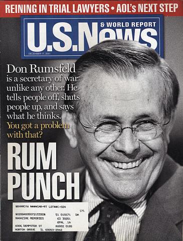 U.S. News & World Report December 17, 2001