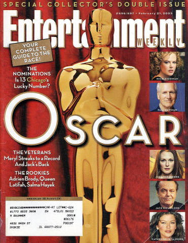 Entertainment Weekly February 21, 2003
