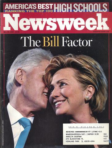 Newsweek Magazine May 28, 2007