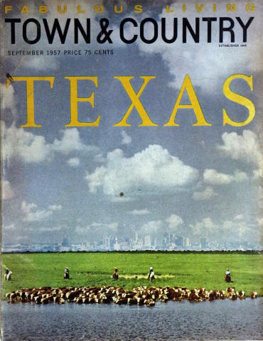 Town & Country Magazine September 1957