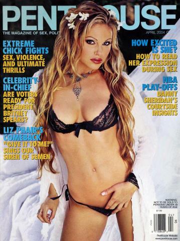 Penthouse Magazine April 2004
