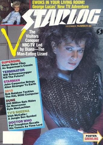 Starlog Magazine December 1984