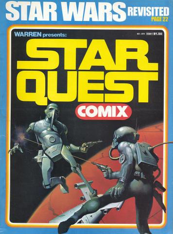 Star Quest Comix October 1978 Comic Book