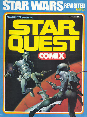 Star Quest Comix October 1978