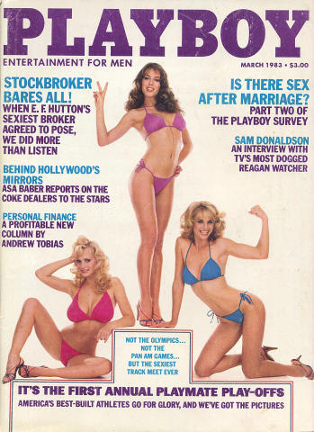 Playboy Magazine March 1, 1983