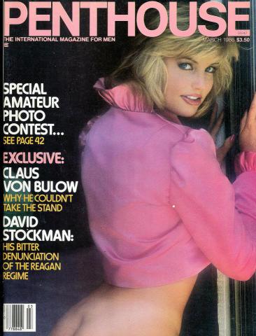 Penthouse Magazine March 1986
