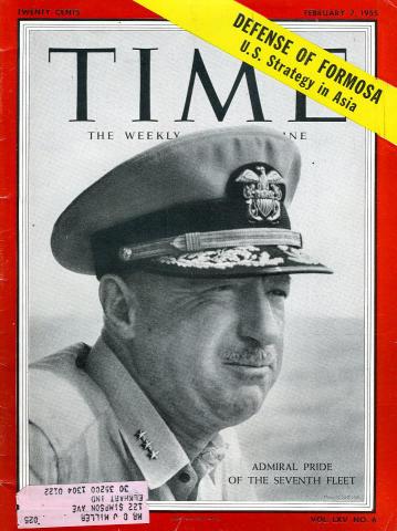 Time Magazine February 7, 1955