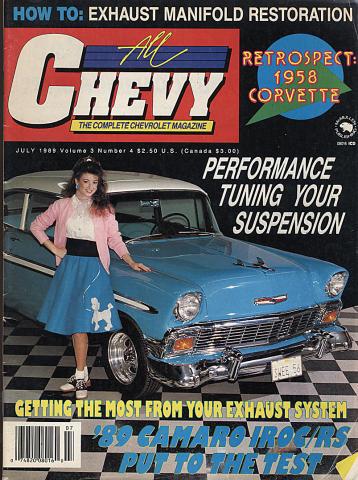 All Chevy Magazine July 1989