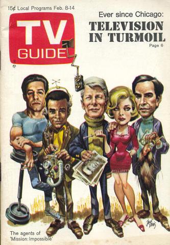 TV Guide February 8, 1969