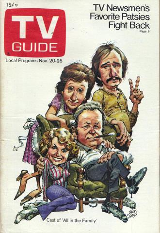 TV Guide November 20, 1971