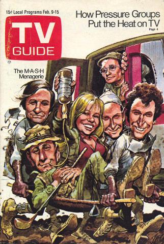 TV Guide February 9, 1974