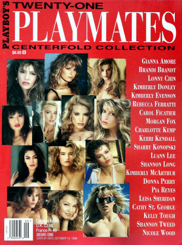 Playboy's Twenty-One Playmates Centerfold Collection 1996