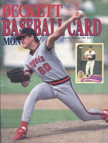 Beckett Baseball Card Monthly September 1989