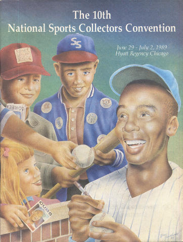 The 10th National Sports Collectors Convention Program