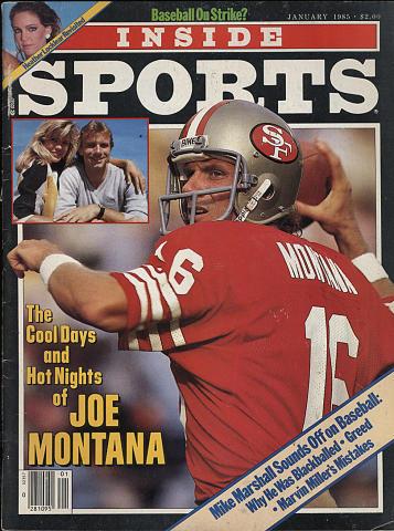 Inside Sports Magazine January 1985