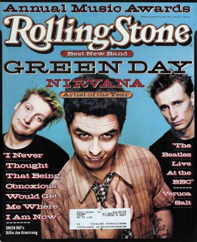 Rolling Stone Magazine January 26, 1995