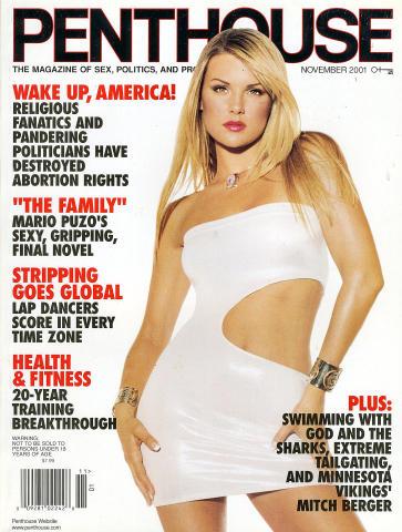 Penthouse Magazine November 2001