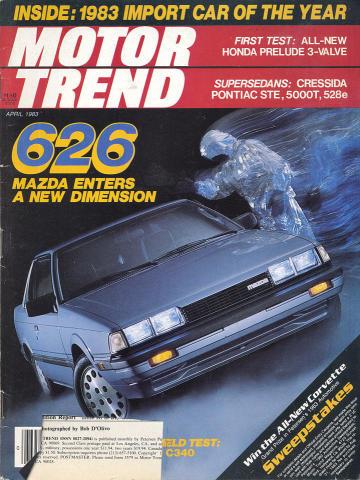 Motor Trend Magazine April 1983