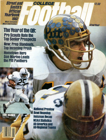 Street and Smith's College Football Yearbook 1982