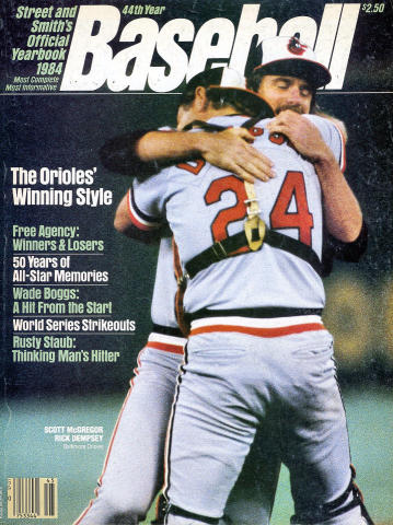 Street and Smith's Baseball Yearbook 1984