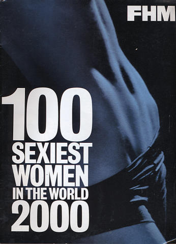 FHM Sexiest Women in The World Magazine January 2000