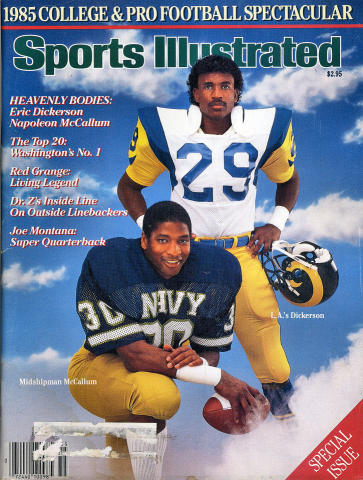 Sports Illustrated College & Pro Football Spectacular 1985