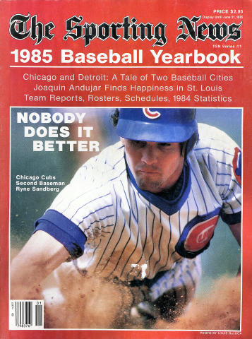 The Sporting News: 1985 Baseball Yearbook
