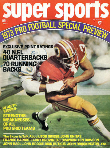 Super Sports Magazine October 1973