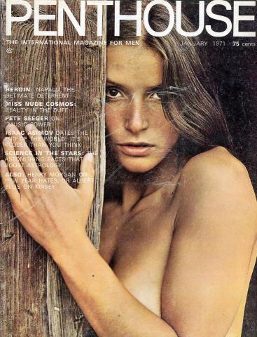 Penthouse Magazine January 1971
