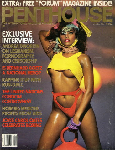 Penthouse Magazine April 1987