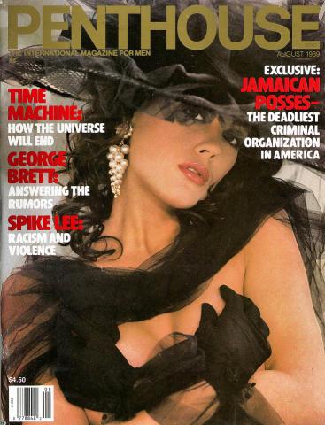 Penthouse Magazine August 1989