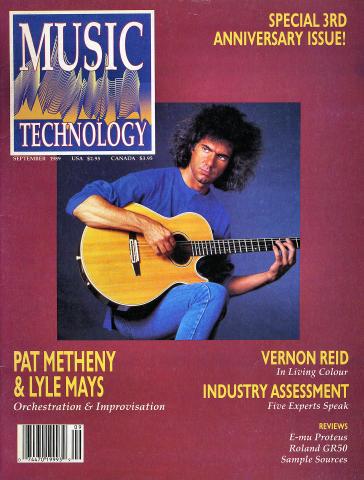 Music Technology Magazine September 1989