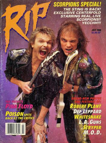 RIP Magazine July 1988