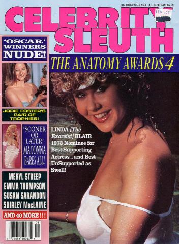 Celebrity Sleuth Vol. 6 No. 8