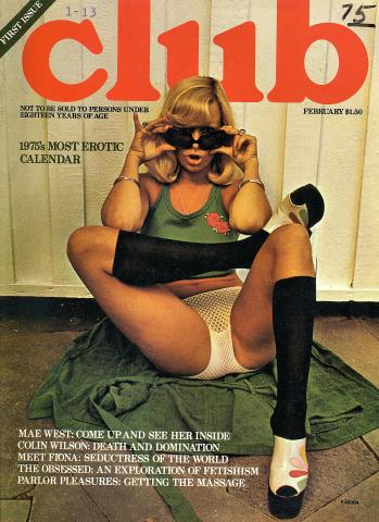 Club Magazine February 1975