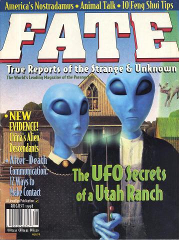 Fate Magazine August 1988