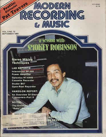 Modern Recording & Music Magazine September 1980