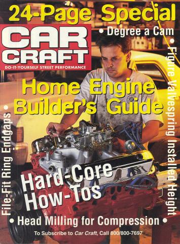 Car Craft Home Engine Builder's Guide