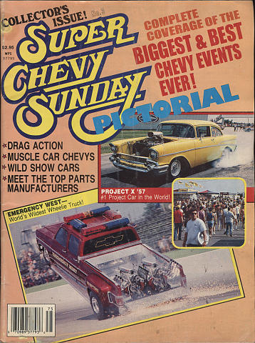 Super Chevy Sunday Collectors Item #3