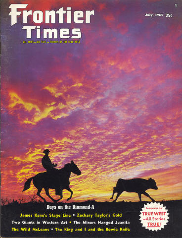 Frontier Times Magazine July 1964