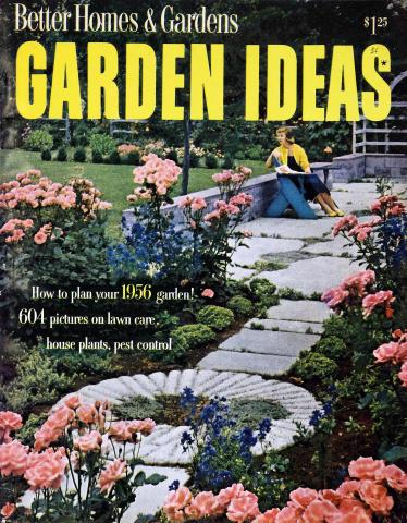 Better Homes & Gardens: Garden Ideas for 1956