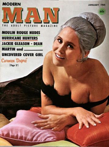 Modern Man Magazine January 1966