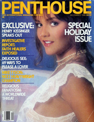 Penthouse Magazine December 1986