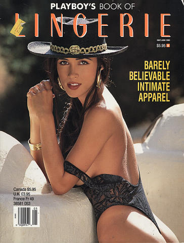 Playboy's Book of Lingerie Magazine January 1993