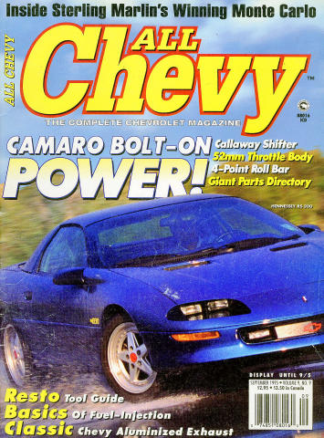 All Chevy Magazine September 1995