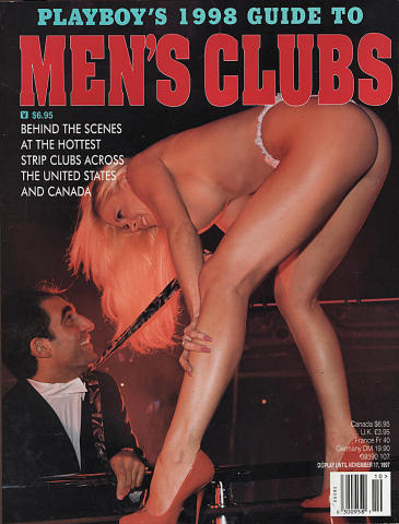Playboy's 1998 Guide to Men's Clubs