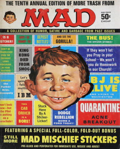 The Tenth Annual Edition of More Trash From MAD