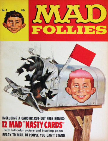 The 7th Annual Collection of MAD Follies 1969