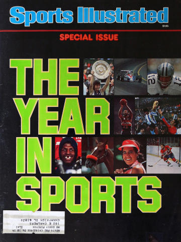 Sports Illustrated The Year in Sports 1979