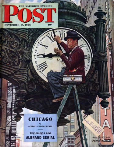 The Saturday Evening Post November 3, 1945